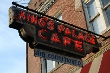 LocalEats King's Palace Cafe in Memphis restaurant pic