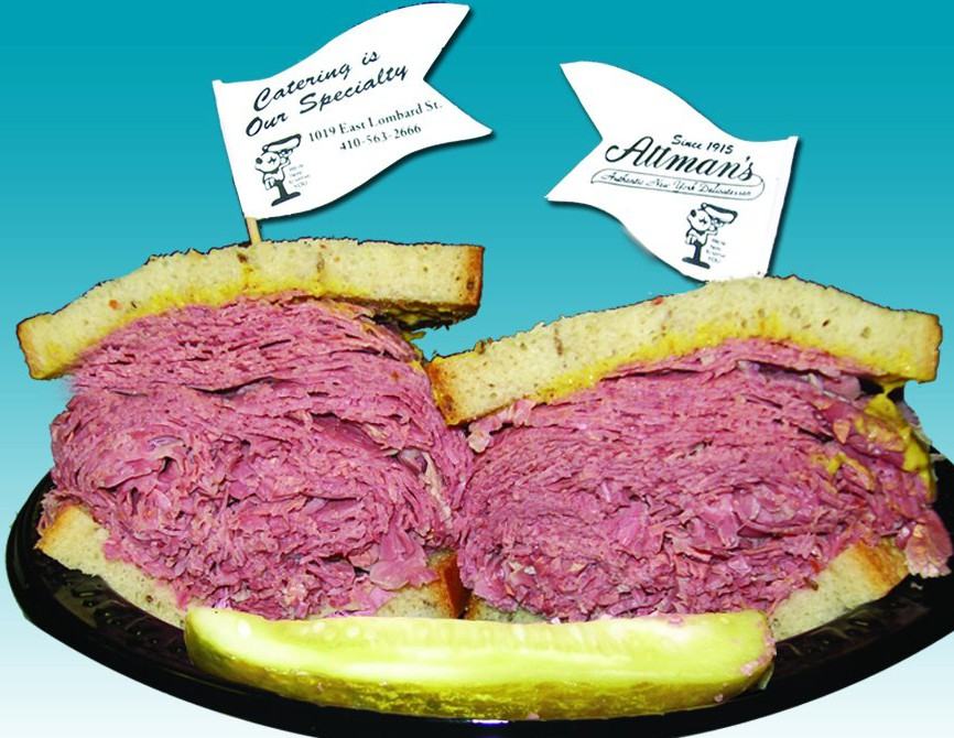LocalEats Attman's Delicatessen in Baltimore restaurant pic