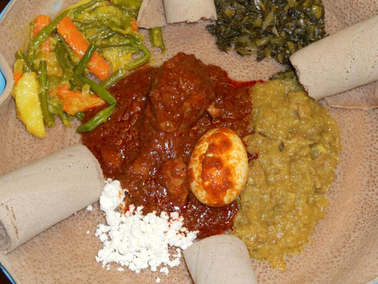 LocalEats Alem Ethiopian Village in Milwaukee restaurant pic