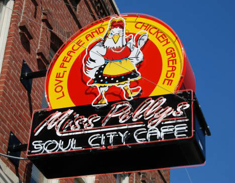 LocalEats Miss Polly's Soul City Cafe in Memphis restaurant pic