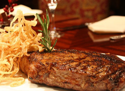 LocalEats Delmonico's in New York restaurant pic