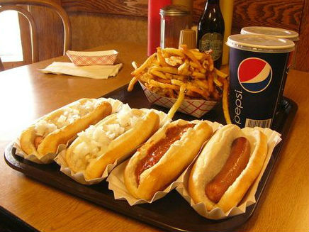 LocalEats Hot Dog Heaven in Cleveland restaurant pic