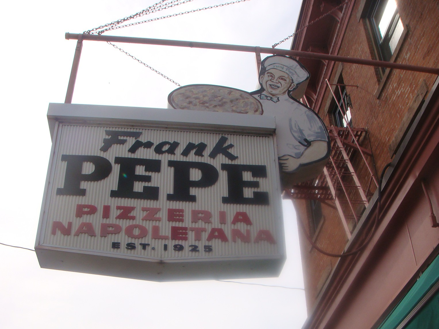 LocalEats Frank Pepe Pizzeria Napoletana in New Haven restaurant pic