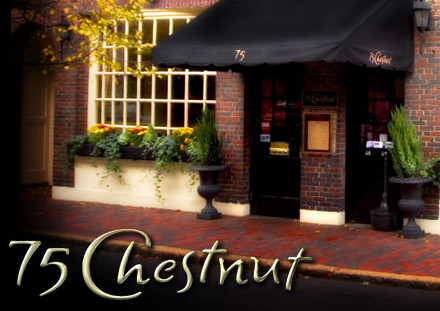 LocalEats 75 Chestnut in Boston restaurant pic