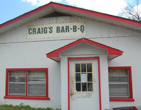 LocalEats Craig's Bar-B-Q in De Valls Bluff restaurant pic