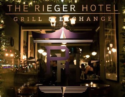 Rieger Hotel Grill & Exchange, The photo