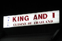 King and I, The Rochester