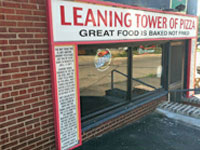 LocalEats Leaning Tower of Pizza in Mansfield restaurant pic
