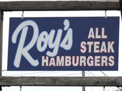 Roy's All Steak Hamburgers  photo
