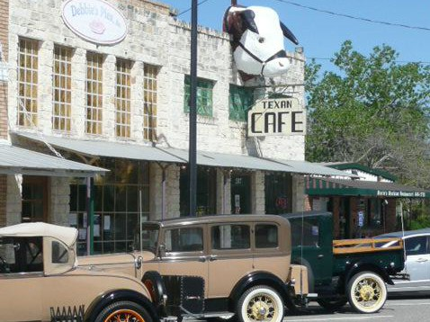 Texan Cafe & Pie Shop, The photo
