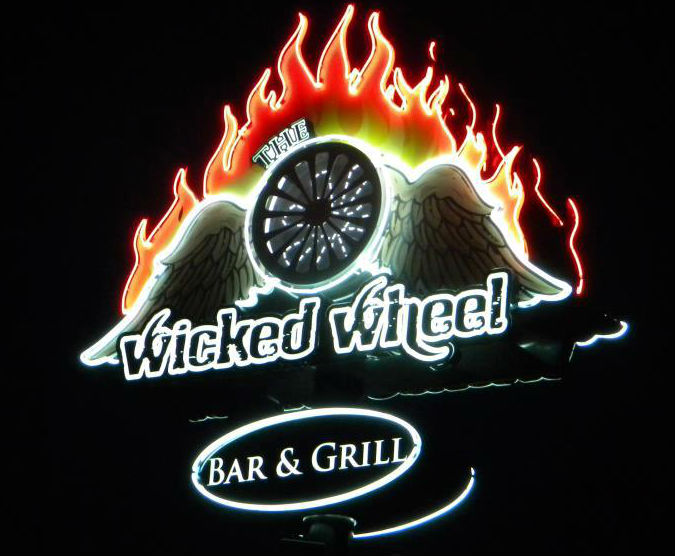 Wicked Wheel Bar & Grill, The photo