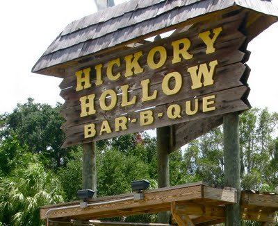 LocalEats Hickory Hollow Bar-B-Que in Ellenton restaurant pic