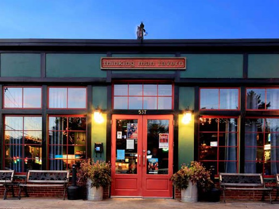 LocalEats Thinking Man Tavern in Decatur restaurant pic