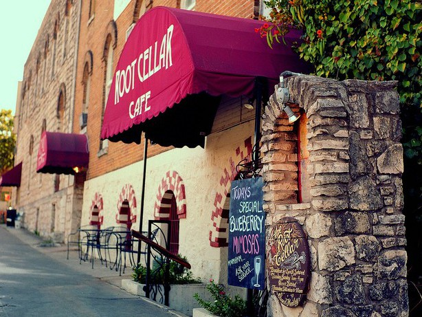Root Cellar Cafe and Brewery, The photo