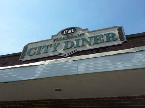 LocalEats Florissant City Diner in St Louis restaurant pic