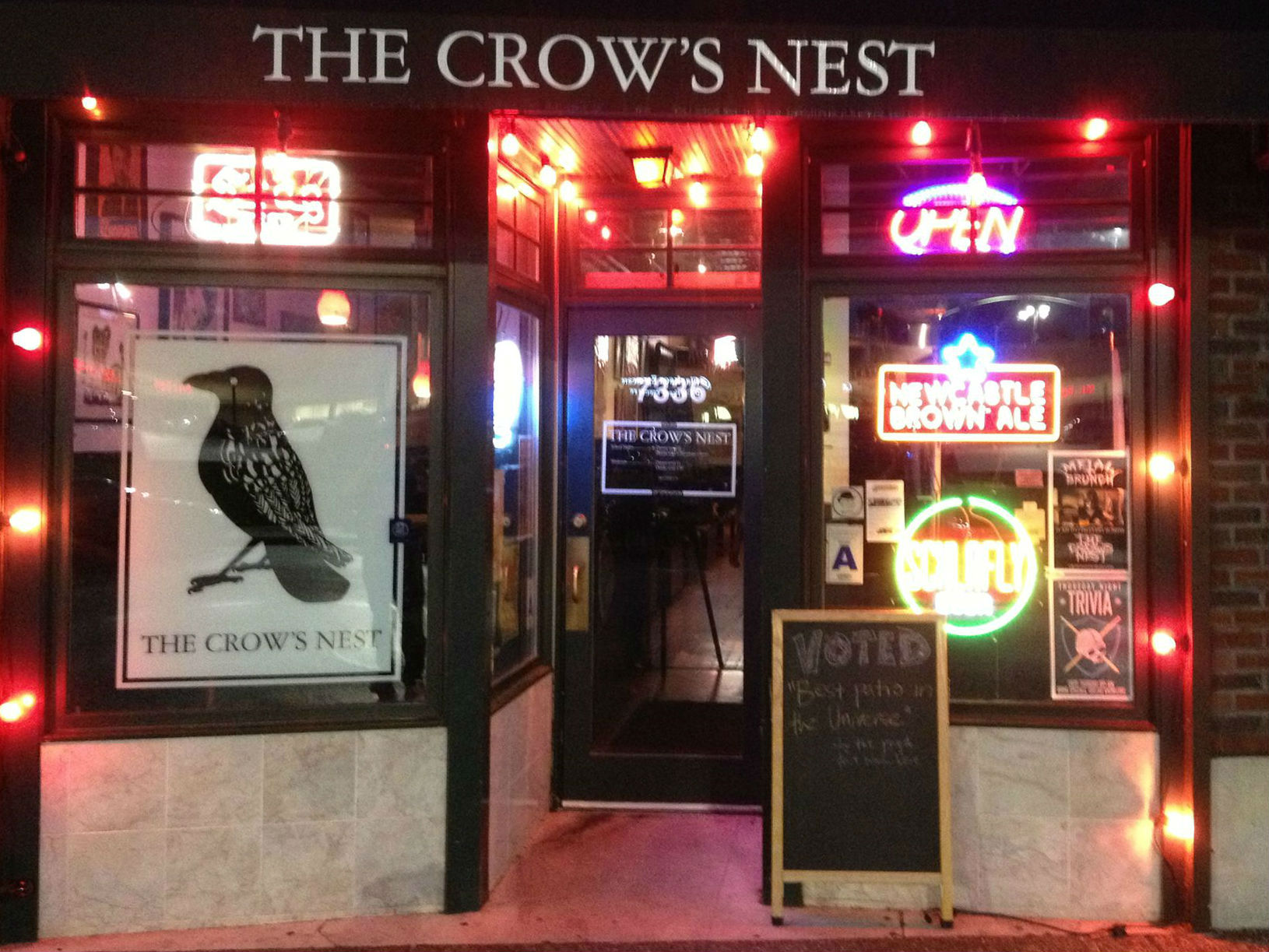 Crow's Nest, The photo