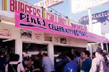 LocalEats Pink's in Los Angeles restaurant pic