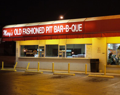 LocalEats Mary's Old Fashioned Pit Bar-B-Que in Nashville restaurant pic