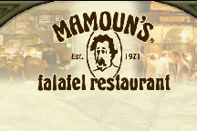 LocalEats Mamoun's Falafel in New York restaurant pic