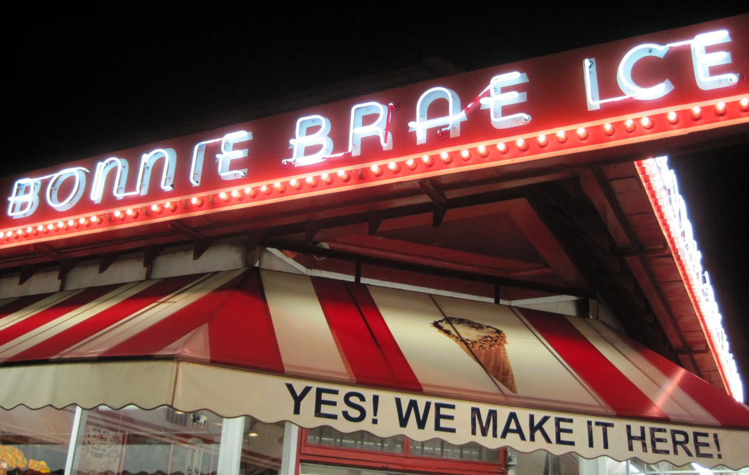 LocalEats Bonnie Brae Ice Cream in Denver restaurant pic