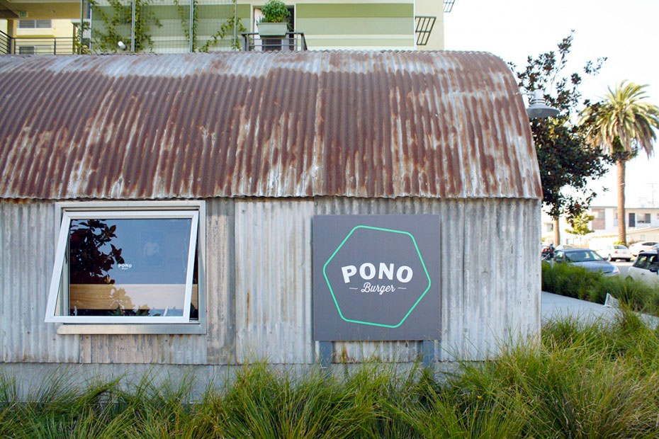 LocalEats Pono Burger in Los Angeles restaurant pic