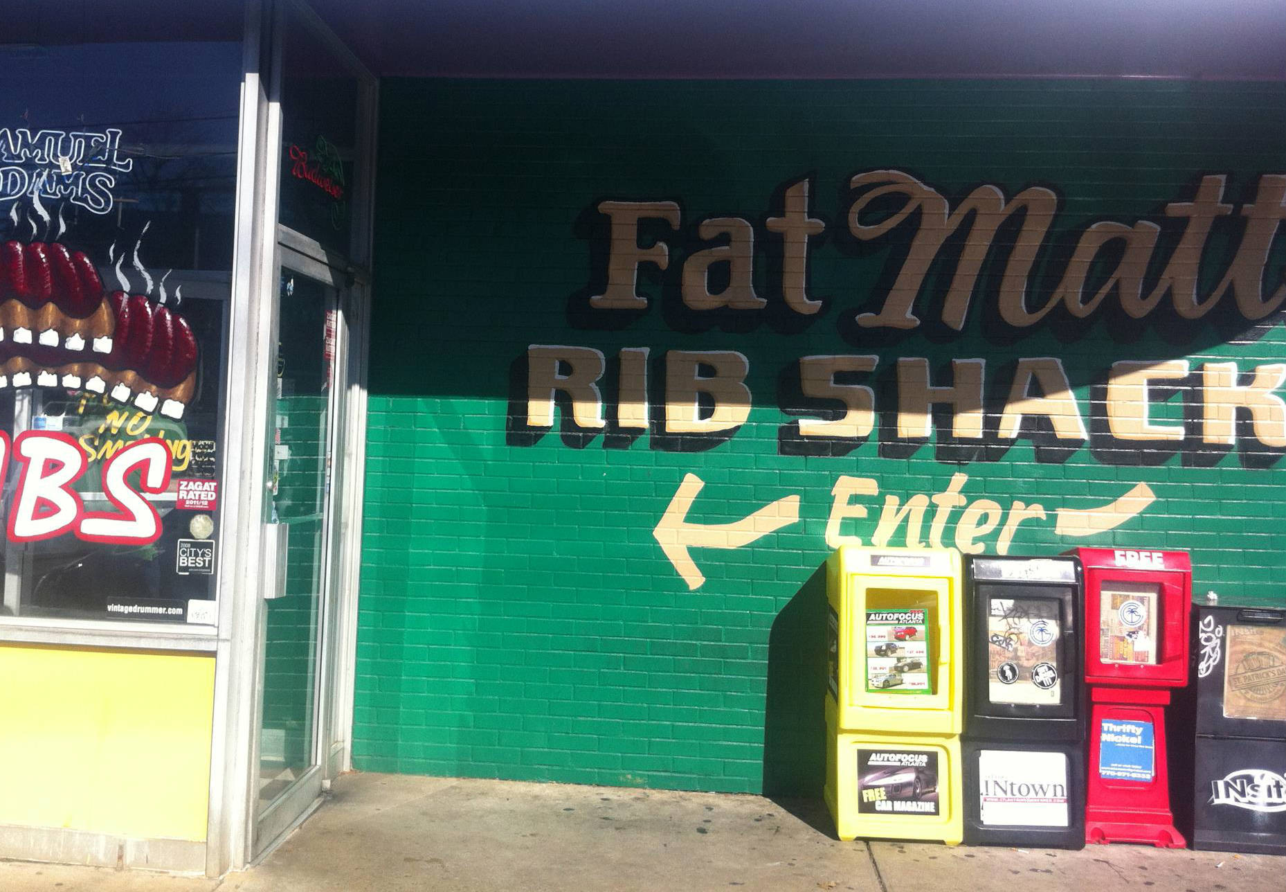 LocalEats Fat Matt's Rib Shack in Atlanta restaurant pic