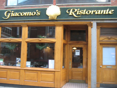 LocalEats Giacomo's in Boston restaurant pic