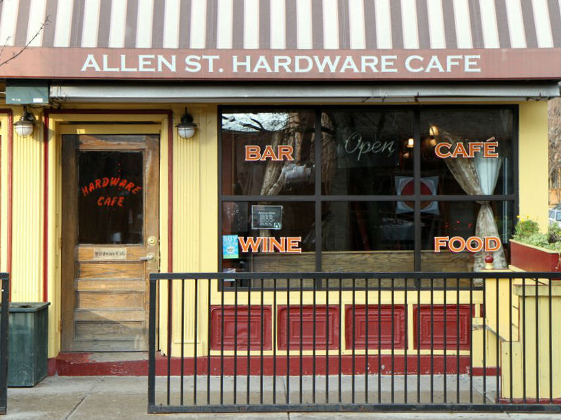 Allen Street Hardware Cafe Buffalo