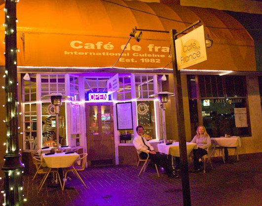 LocalEats Cafe de France in Orlando restaurant pic