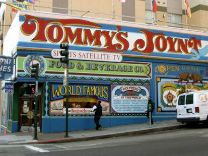 LocalEats Tommy's Joynt in San Francisco restaurant pic