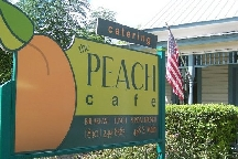 LocalEats Peach Cafe in San Antonio restaurant pic