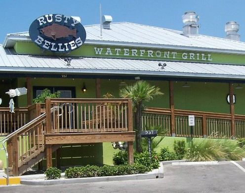 LocalEats Rusty Bellies Waterfront Grill in Tarpon Springs restaurant pic