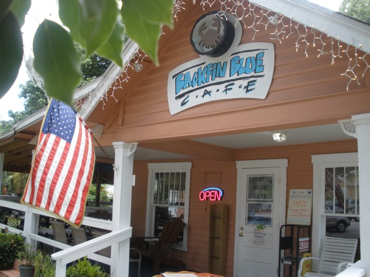 LocalEats Backfin Blue Cafe in Gulfport restaurant pic