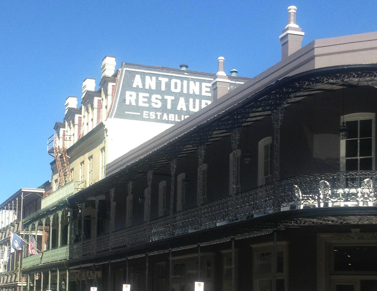 LocalEats Antoine's in New Orleans restaurant pic