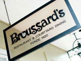 LocalEats Broussard's in New Orleans restaurant pic
