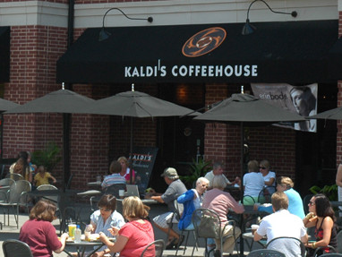 LocalEats Kaldi's Coffeehouse in St Louis restaurant pic