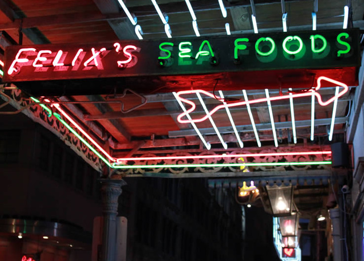 LocalEats Felix's Restaurant & Oyster Bar in New Orleans restaurant pic