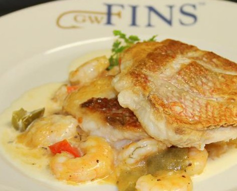 LocalEats GW Fins in New Orleans restaurant pic