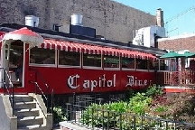 LocalEats Capitol Diner in Boston restaurant pic
