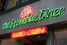 Rosedale Diner, The photo