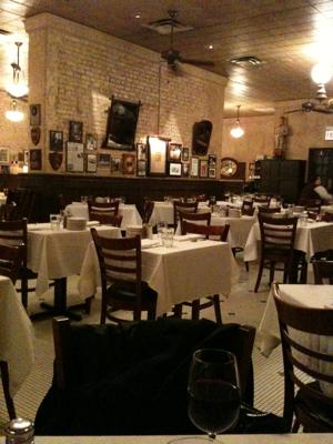 LocalEats Harry Caray's Italian Steakhouse in Chicago restaurant pic