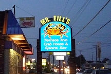 LocalEats Mr Bill's Terrace Inn in Baltimore restaurant pic