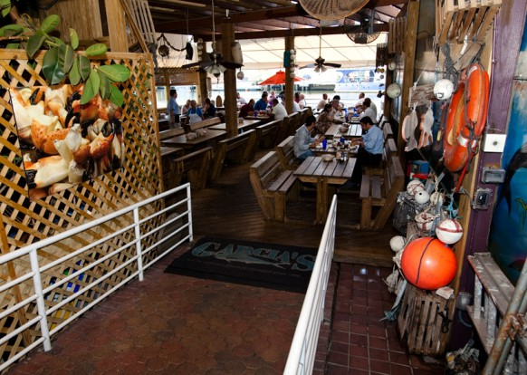LocalEats Garcia's Seafood Grille & Fish Market in Miami restaurant pic