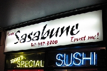 LocalEats Sushi Sasabune in Honolulu restaurant pic