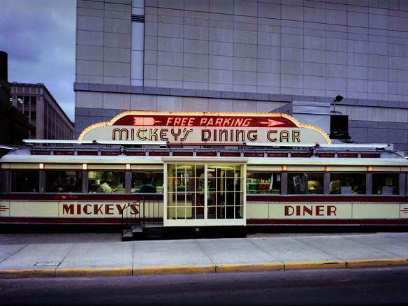 LocalEats Mickey's Diner in Minneapolis restaurant pic
