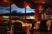 LocalEats Top of Binion's Steakhouse in Las Vegas restaurant pic