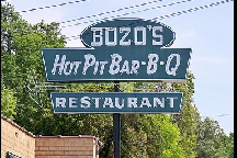 LocalEats Bozo's Hot Pit Bar-B-Q in Mason restaurant pic