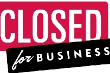 Closed For Business photo