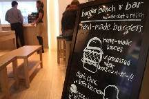 LocalEats Burger Bench & Bar in Singapore restaurant pic