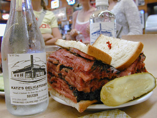LocalEats Katz's Delicatessen in New York restaurant pic